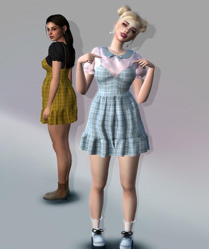 Sims 4 Angelika Dress at EvellSims