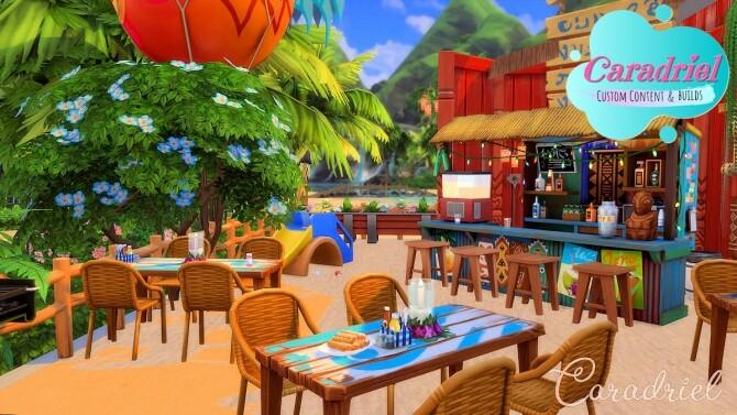 Sims 4 Sulani Ohanali Beach No CC by Caradriel at Mod The Sims