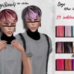 Male hair retexture by HoneysSims4