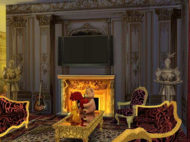 Sims 4 Empirika Special Walls & New Sofa Recolors at Anna Quinn Stories