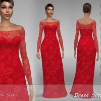 Dress Simona 1 by Jaru Sims