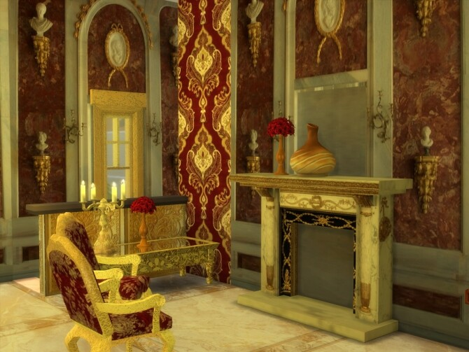 Sims 4 Fireplaces Set at Anna Quinn Stories