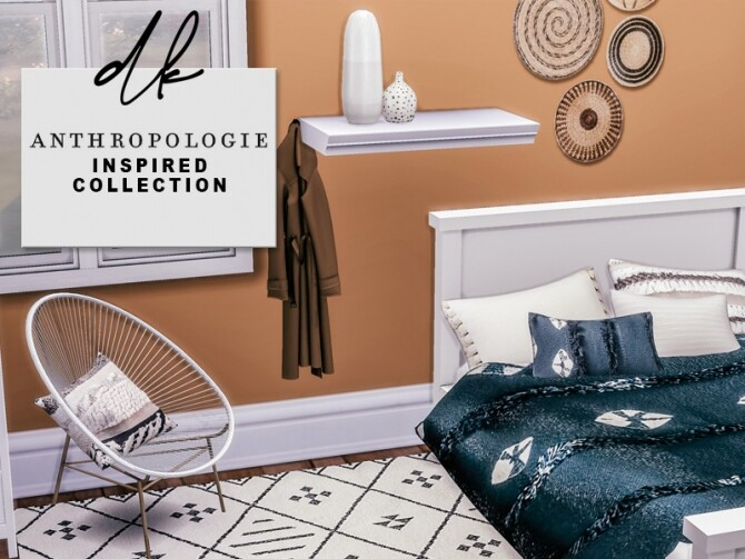Sims 4 Anthropologie Inspired Collection at DK SIMS