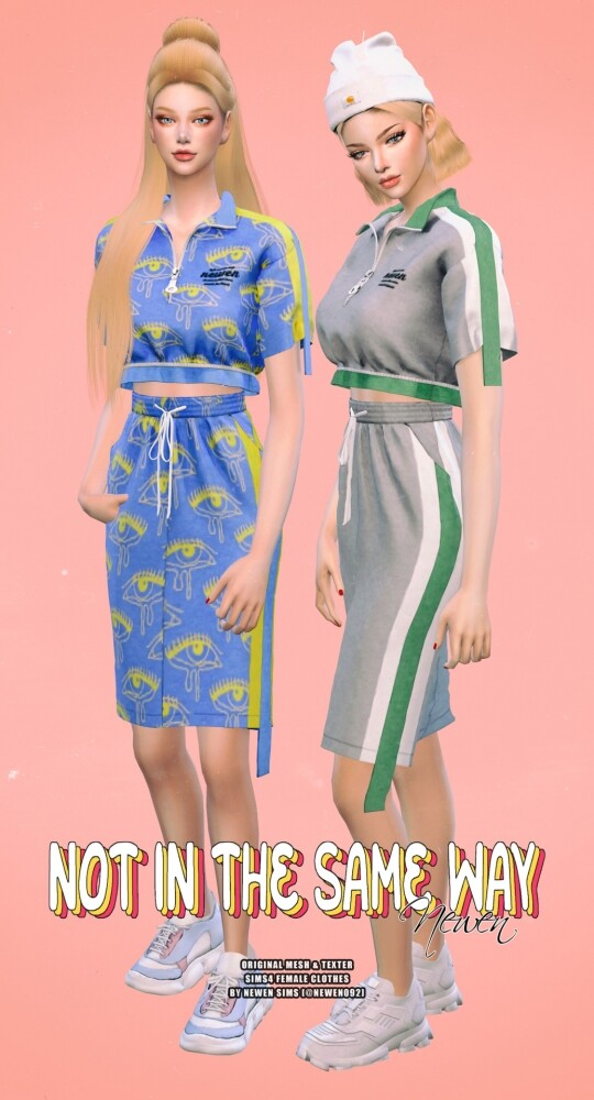 Not In The Same Way Set at NEWEN image 11414 540x1000 Sims 4 Updates
