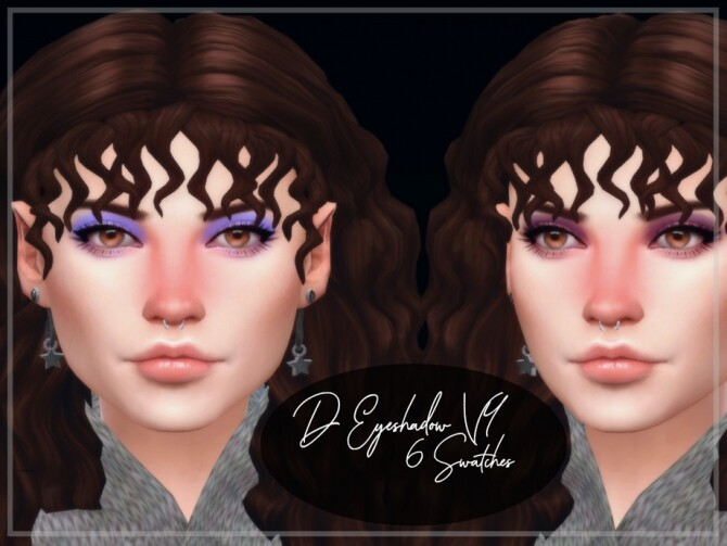 Sims 4 D Eyeshadow V4 by Reevaly at TSR