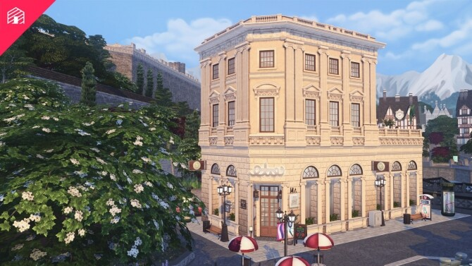 Baker Square Restaurant at Harrie image 115 670x377 Sims 4 Updates