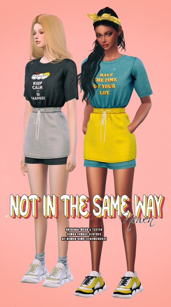 Not In The Same Way Set at NEWEN image 11514 558x1000 Sims 4 Updates