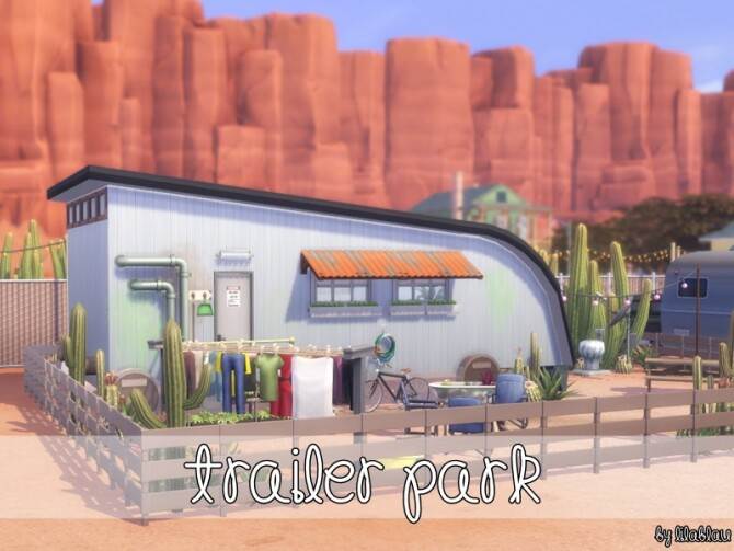 Trailer Park NoCC by LilaBlau at TSR image 1159 670x503 Sims 4 Updates