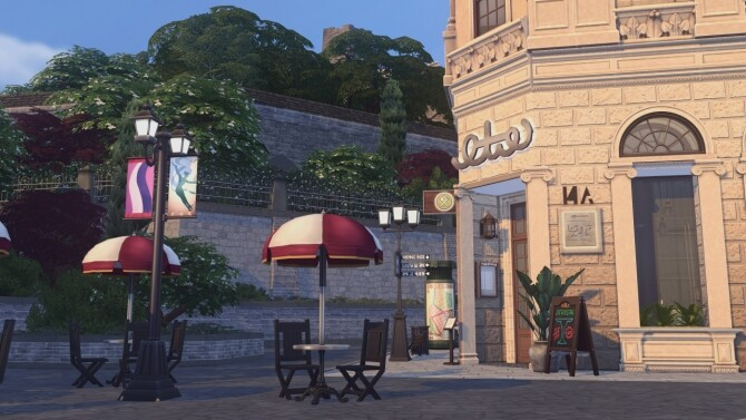 Baker Square Restaurant at Harrie image 116 670x377 Sims 4 Updates
