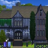 Tudor Vampirique home by xmathyx