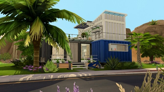 Container house by MrsMilkiSims