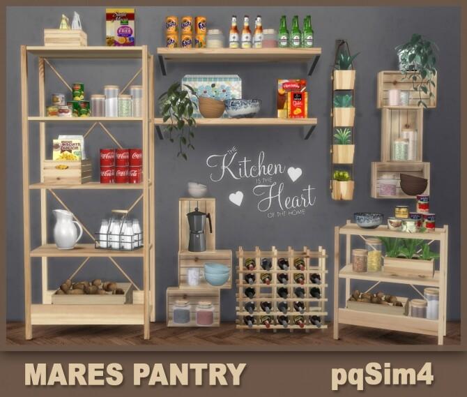 Sims 4 Mares Pantry at pqSims4