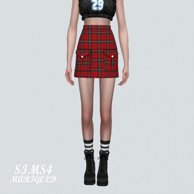 Sims 4 2 Pocket Mini Skirt at Marigold