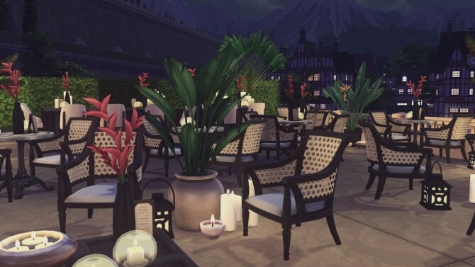 Sims 4 Baker Square Restaurant at Harrie