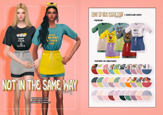 Not In The Same Way Set at NEWEN image 11812 670x475 Sims 4 Updates