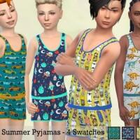 Boys Summer Pyjamas by Pelineldis