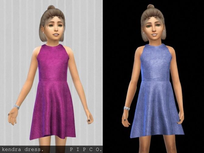 Kendra dress by Pipco at TSR image 1184 670x503 Sims 4 Updates