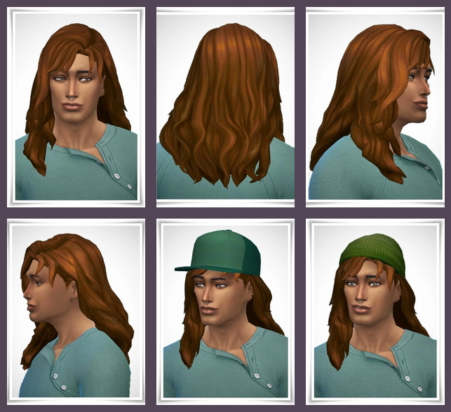 Sims 4 Manu Hair at Birksches Sims Blog