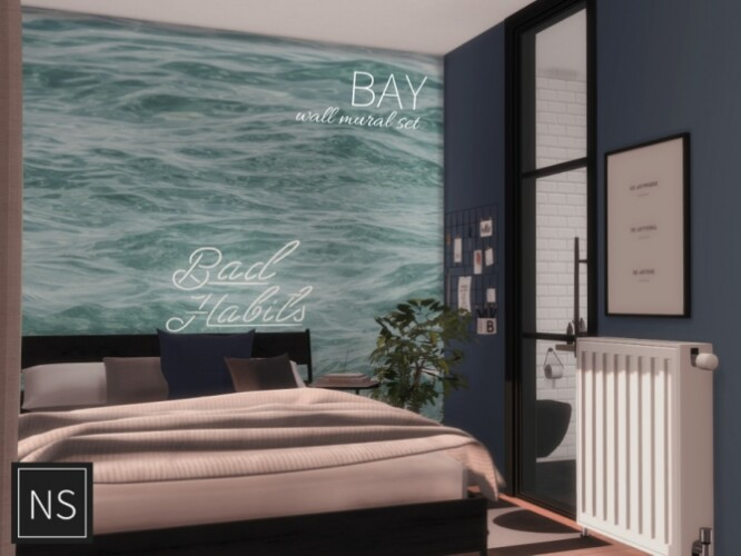 Bay Wall Murals by Networksims