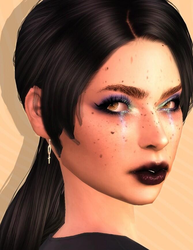 Sims 4 Ember Eyeshadow at EvellSims