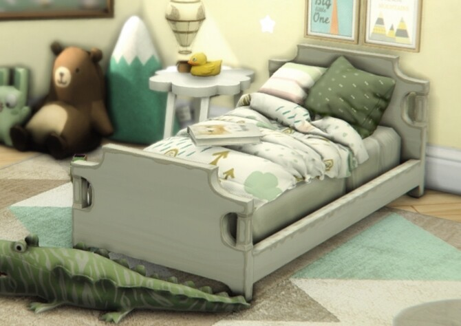 Sue Toddler's Bedding Set at Sims4Nicole image 12126 670x474 Sims 4 Updates