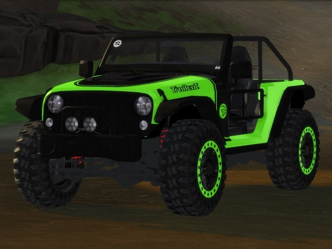 Sims 4 2017 Jeep Trailcat at Tyler Winston Cars