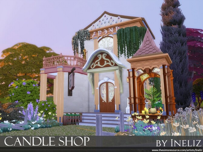 Candle Shop by Ineliz at TSR image 1228 670x503 Sims 4 Updates