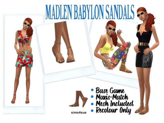 MADLEN BABYLON SANDALS