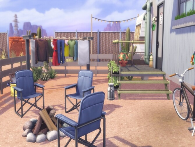 Trailer Park NoCC by LilaBlau at TSR image 1240 670x503 Sims 4 Updates