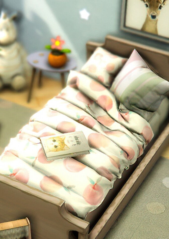 Sue Toddler's Bedding Set at Sims4Nicole image 12422 670x948 Sims 4 Updates