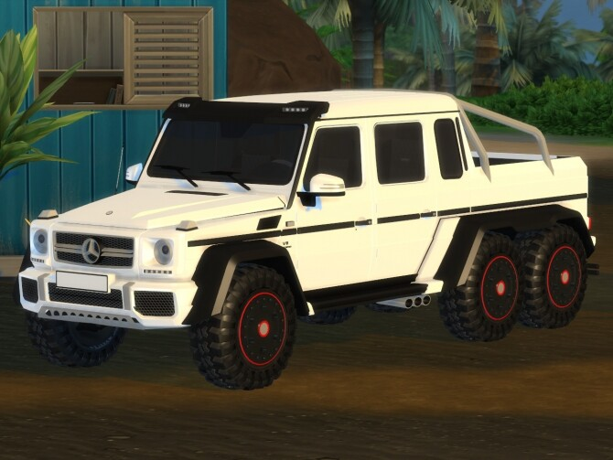2014 Mercedes Benz G63 AMG 6x6 at Tyler Winston Cars image 1247 670x503 Sims 4 Updates