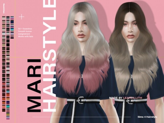 Mari Hairstyle by LeahLillith