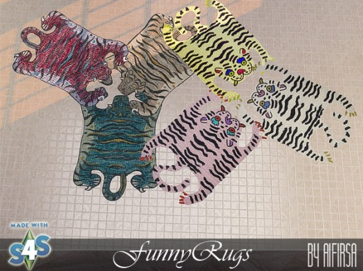 Funny rugs by Aifirsa