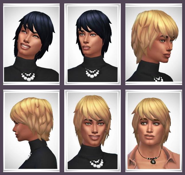 Sims 4 Billie Hair at Birksches Sims Blog