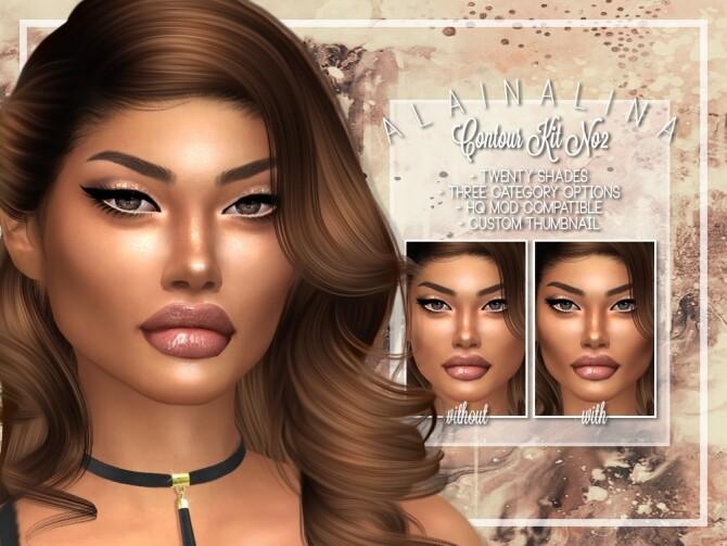 Contour Kit No2 at AlainaLina image 12621 670x503 Sims 4 Updates