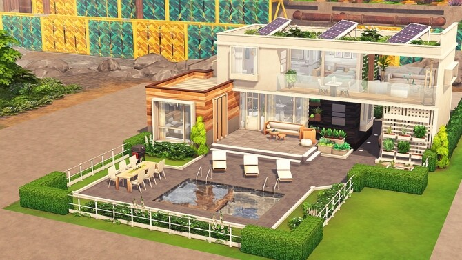 ECO FRIENDLY ROOMMATES HOUSE at Aveline Sims image 12721 670x377 Sims 4 Updates