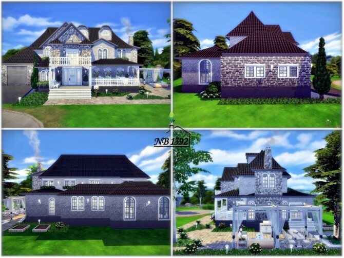 Sims 4 Family Property No CC by nobody1392 at TSR