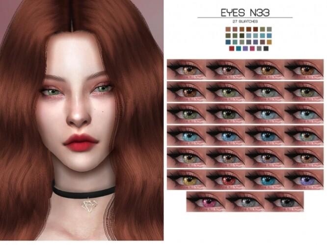 LMCS Eyes N33 HQ by Lisaminicatsims