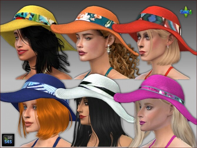Swimsuits, hats and flip flops by Mabra at Arte Della Vita image 13018 670x503 Sims 4 Updates