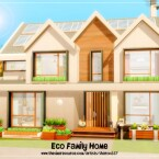 Eco Family Home by sharon337