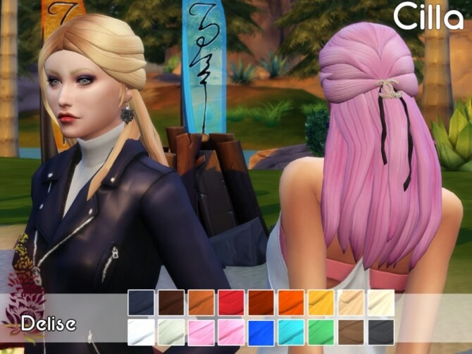 Cilla hairstyle by Delise at Sims Artists image 1311 670x503 Sims 4 Updates