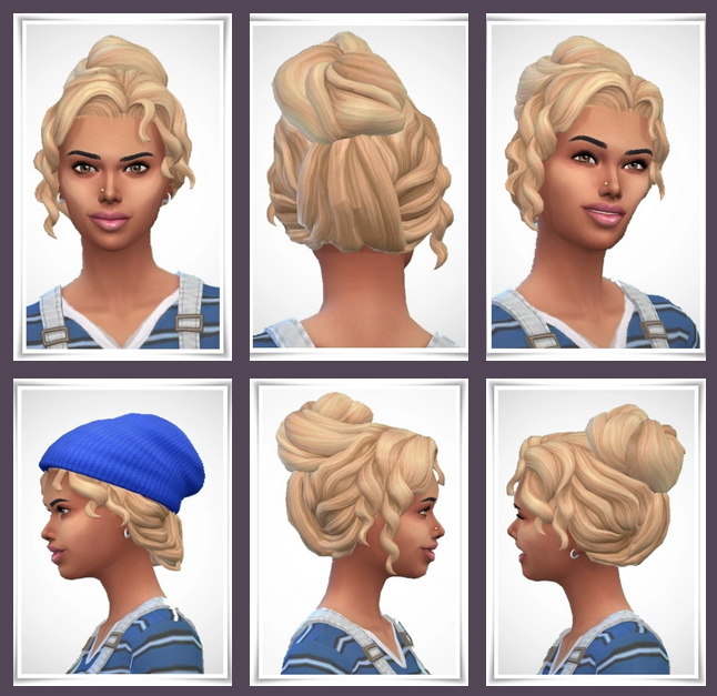 Sims 4 Trudy Hair at Birksches Sims Blog
