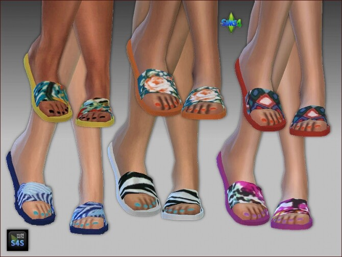 Swimsuits, hats and flip flops by Mabra at Arte Della Vita image 13122 670x503 Sims 4 Updates