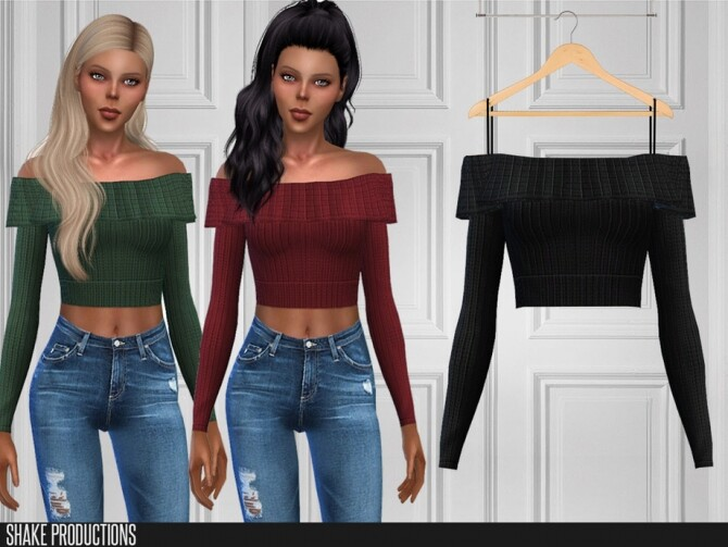 Sims 4 460 Top by ShakeProductions at TSR