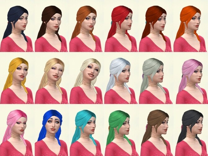 Cilla hairstyle by Delise at Sims Artists image 1321 670x503 Sims 4 Updates