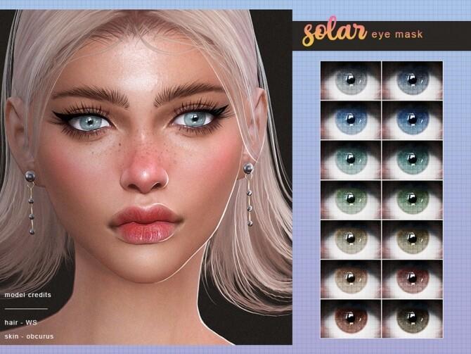Sims 4 Eye Mask by Screaming Mustard at TSR