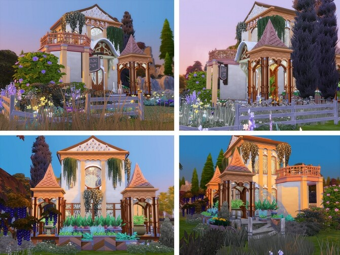 Sims 4 Candle Shop by Ineliz at TSR