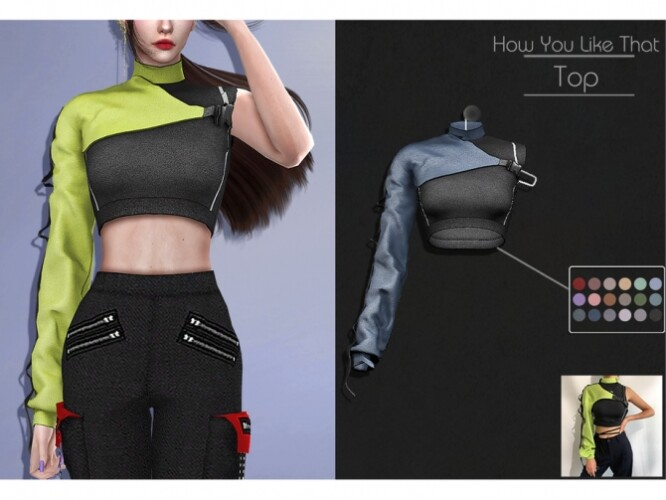 LMCS How You Like That Top by Lisaminicatsims