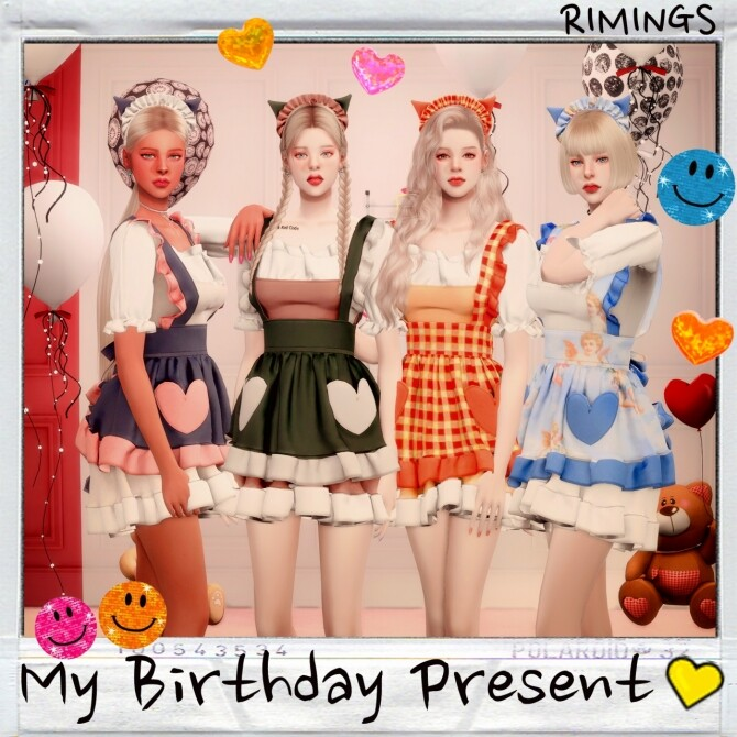 MY BIRTHDAY PRESENT: dress & hat at RIMINGs image 13519 670x670 Sims 4 Updates