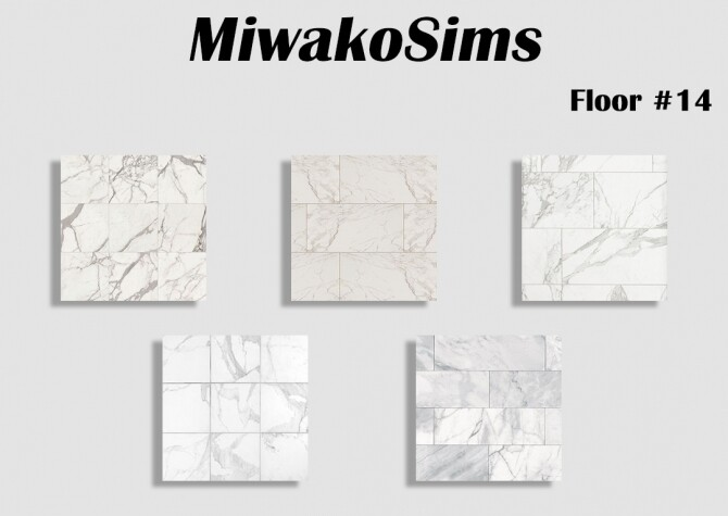 Sims 4 Collection #14 floor at MiwakoSims